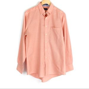 Chaps Twill Button Down Shirt 15-15 1/2 34 35